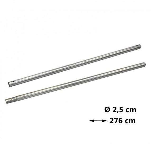AGA náhradná tyč na trampolínu Ø 2,5 cm - dĺžka 276 cm