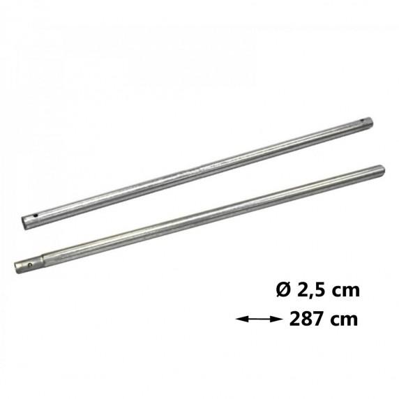 AGA náhradná tyč na trampolínu Ø 2,5 cm - dĺžka 286 cm