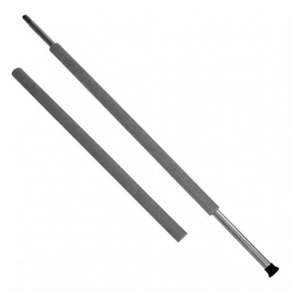 AGA penová ochrana na tyče MIRELON 130 cm - sivá