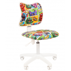 Chairman detská otočná stolička 7027825 - Monster Preview