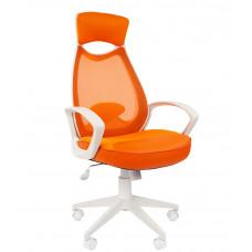Chairman kancelárske kreslo 7023225 - Bielo-oranžové Preview