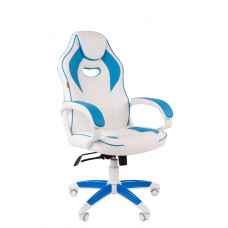 Chairman gamer kreslo Game-16 - Bielo/modré Preview