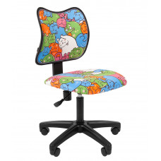 Chairman detská otočná stolička B3-KIDS Cats Preview