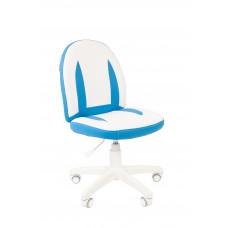 Chairman detská otočná stolička KIDS-2 - Bielo/modré Preview