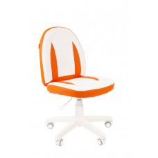 Chairman detská otočná stolička KIDS-2 - Bielo/oranžové Preview