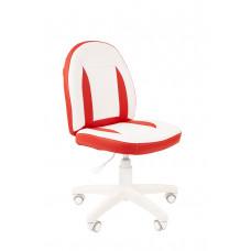 Chairman detská otočná stolička KIDS-2 - Bielo/červené Preview