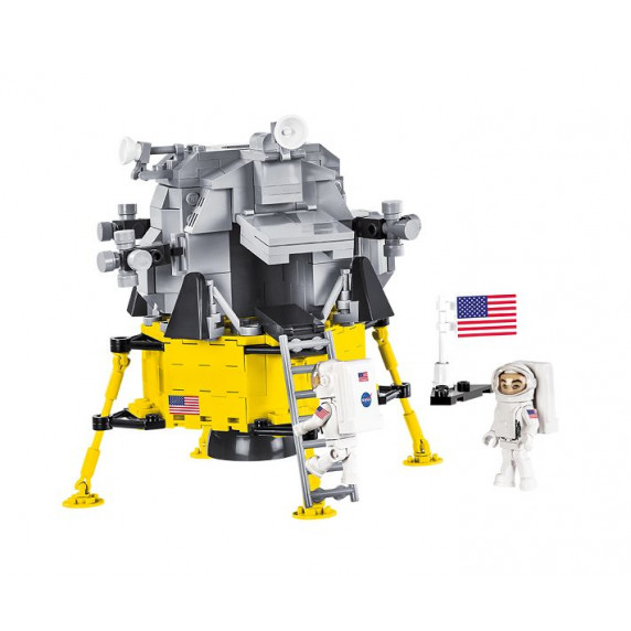COBI 21079 Lunárny modul SMITHSONIAN Apollo 11, 370 ks