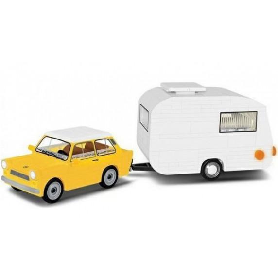 COBI 24590 YOUNGTIMER Trabant 601 s karavanom 218 ks
