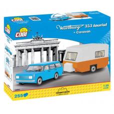 COBI 24592 YOUNGTIMER Wartburg 353 Tourist s karavanom 255 ks Preview