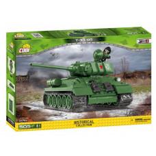 COBI-2476A SMALL ARMY Tank II WW T34/85