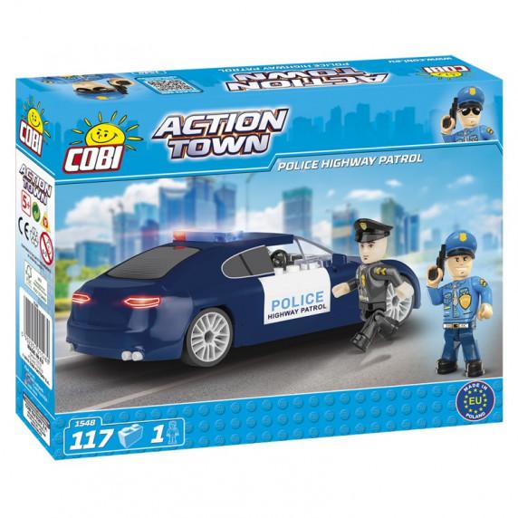 COBI 1548 ACTION TOWN Diaľničná policajná hliadka