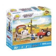 COBI 1873 ACTION TOWN Farma - traktor a krava Preview