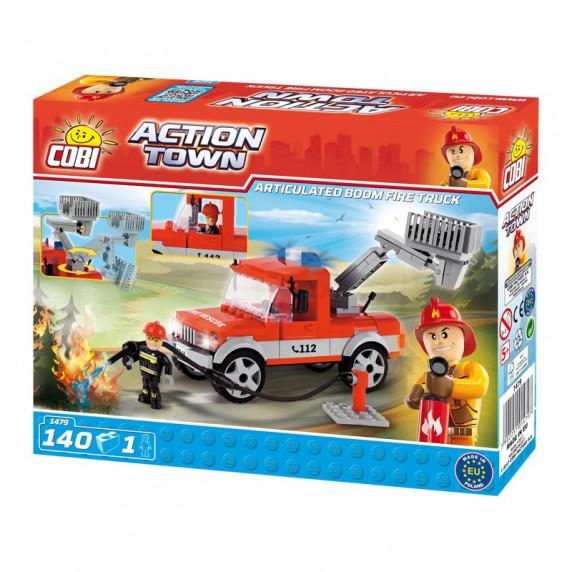 COBI 1479 ACTION TOWN Hasičské auto 140 ks