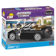 COBI 1803 ACTION TOWN Pretekárske auto Preview