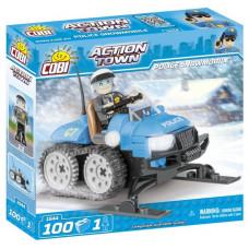 COBI 1544 ACTION TOWN Policajný snežný skúter 100 ks Preview