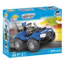 COBI 1547 ACTION TOWN Policajná hliadka ATV 61 ks Preview