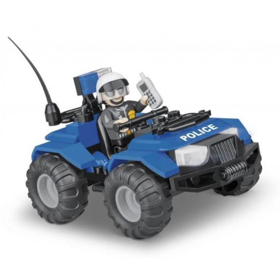 COBI 1547 ACTION TOWN Policajná hliadka ATV 61 ks