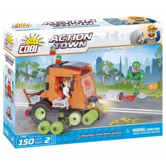 COBI 1782 ACTION TOWN Upratovacie vozidlo 150 ks