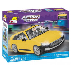 COBI 1804 ACTION TOWN Pretekárske auto GTS Preview