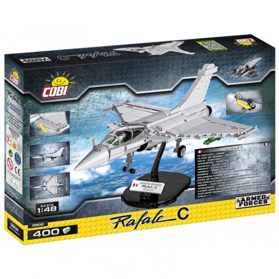 COBI 5802 Stíhacie lietadlo Armed Forces Rafale C, 400 ks