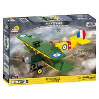 COBI 5704 Great War Stíhacie lietadlo AVRO 504 D7600 230 ks