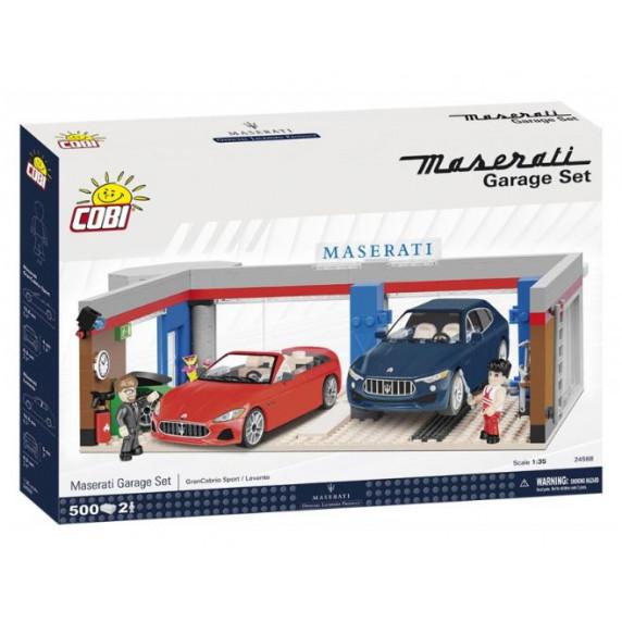 COBI 24568 Maserati Garáž 1:35 500 ks