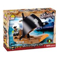 COBI 6019 PIRATES Jackova pirátska loď 140 ks