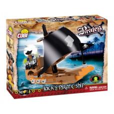 COBI 6019 PIRATES Jackova pirátska loď 140 ks Preview