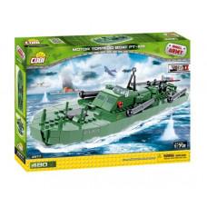 COBI 2377 SMALL ARMY II WW Torpédoborec PT-109, 1:72, 480 ks Preview
