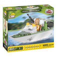 COBI 2154 Small Army Hliadkovací čln Shark 60 ks Preview