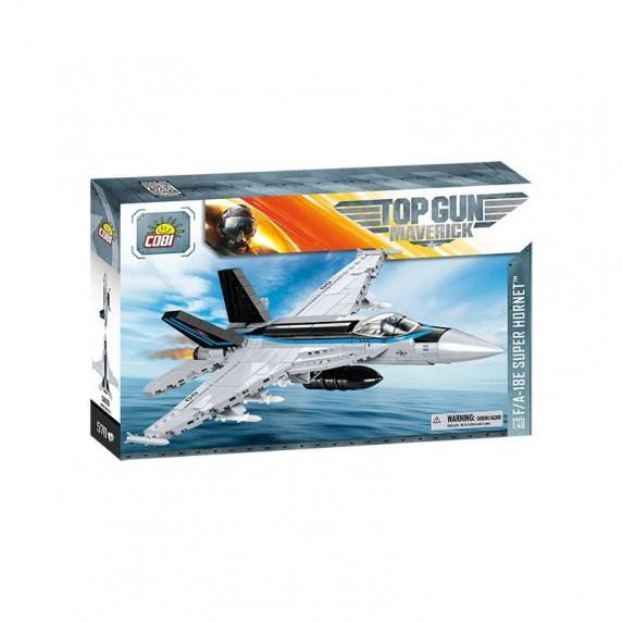 COBI 5805 Stíhacie lietadlo TOP GUN F/A-18E Super Hornet, 1:48, 570 ks
