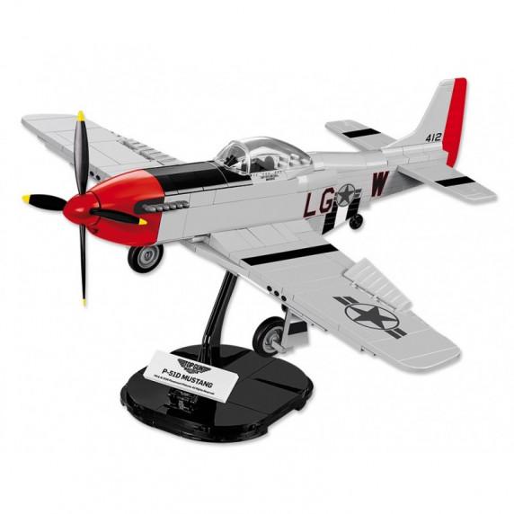 COBI 5806 Stíhacie lietadlo TOP GUN P-51 Mustang, 1:35, 265 ks