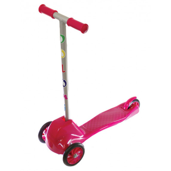 Detská trojkolesová kolobežka Inlea4Fun - ružová