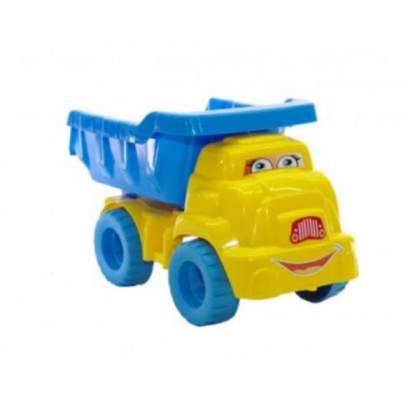 Súprava do pieskoviska so sklápačom Inlea4Fun - modrá/žltá