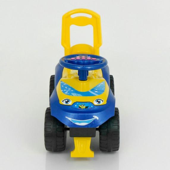 Detské odrážadlo so zvukovými efektmi Inlea4Fun - žlté/modré