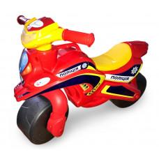Detské odrážadlo motorka Inlea4Fun Inlea4Fun POLICE - červené/žlté Preview