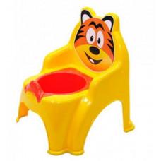 Detský nočník v tvare stoličky Tiger Inlea4Fun - žltý Preview