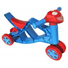 Detské odrážadlo motorka so zvukovými efektmi Inlea4Fun - červené/modré Preview