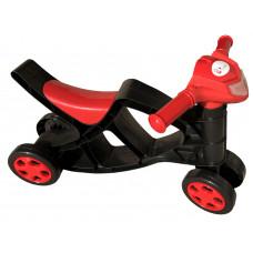 Detské odrážadlo motorka Inlea4Fun - čierne/červené Preview
