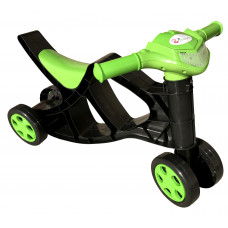 Detské odrážadlo motorka Inlea4Fun - čierne/zelené Preview