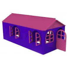 Záhradný domček 256x129x120 cm Inlea4Fun DANUT - Fialový Preview