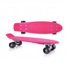 Skateboard Inlea4Fun - ružový Preview