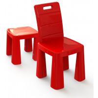 Umelohmotná stolička Inlea4Fun EMMA - červená