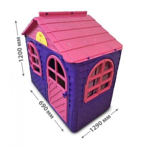 Záhradný domček 69x129x120 cm Inlea4Fun DANUT - Fialový