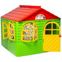Záhradný domček 129x129x120 cm Inlea4Fun DANUT -  Zelený