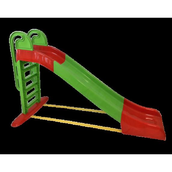 Šmykľavka s držadlom 243 cm Inlea4Fun - zelená