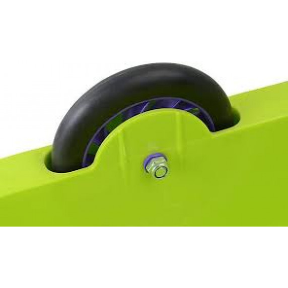 Univerzálne boby s kolieskami 2 v 1 Inlea4Fun 460504/1- zelené