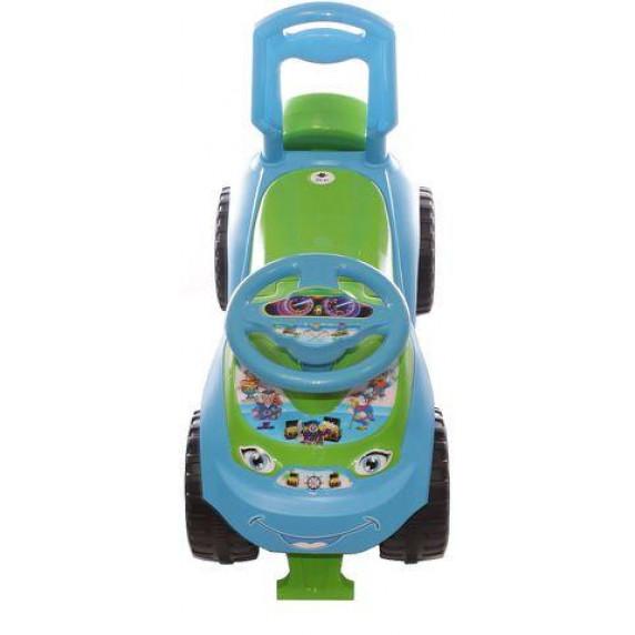 Detské odrážadlo so zvukovými efektmi Inlea4Fun - zelené/modré