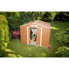 DURAMAX Záhradný domček TITAN XL 6,3 m2 - imitácia dreva Preview