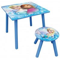 FUN HOUSE Detský stôl so stoličkou Frozen 712392